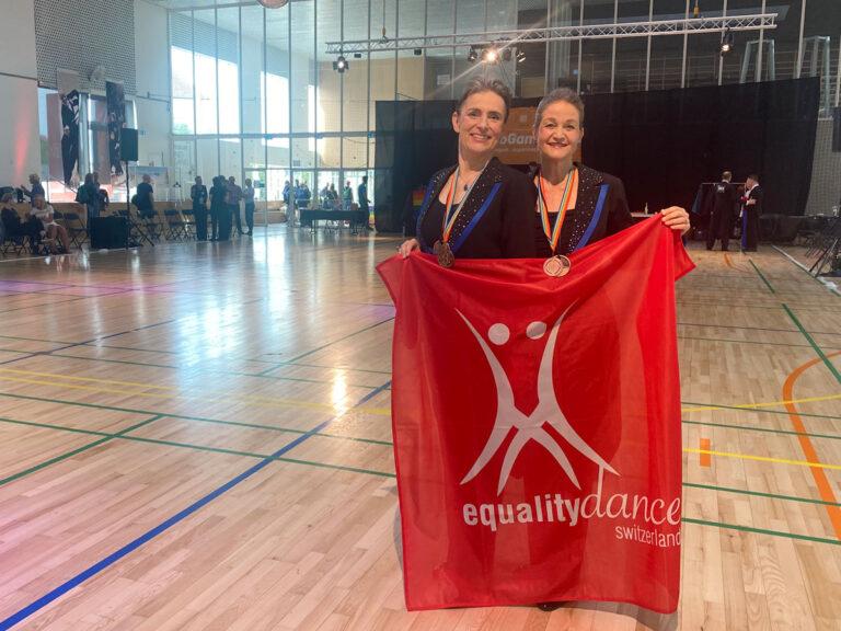 Bronze for Equality Dance Switzerland at EuroGames 2021 Copenhagen