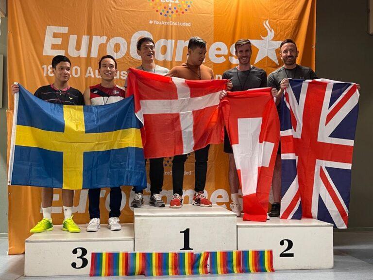 Swiss/UK alliance gets silver in Copenhagen